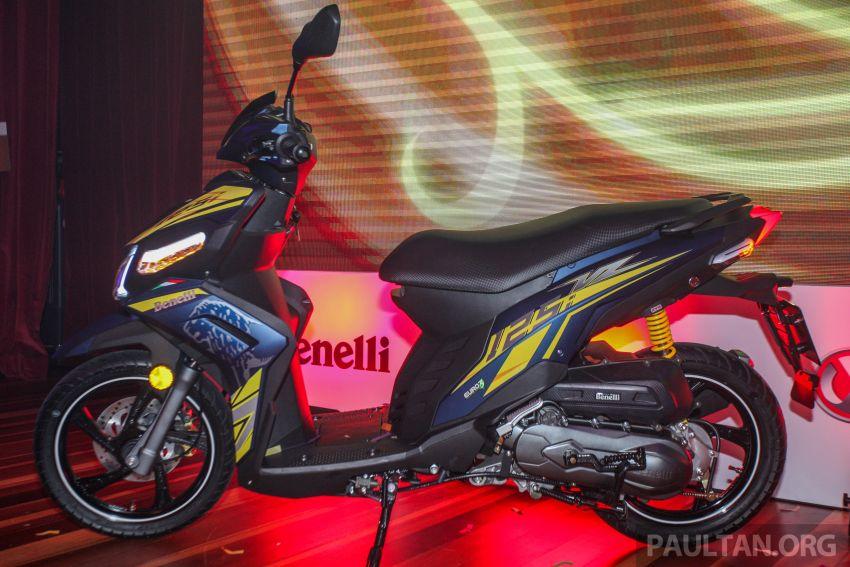 Benelli VZ125i dilancar – Malaysia jadi negara pertama terima skuter 124 cc EFI jenama itu, harga dari RM5.3k Image #859256
