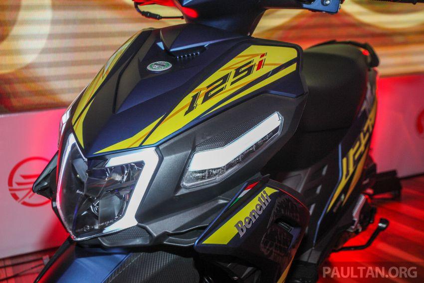 Benelli VZ125i dilancar – Malaysia jadi negara pertama terima skuter 124 cc EFI jenama itu, harga dari RM5.3k Image #859259