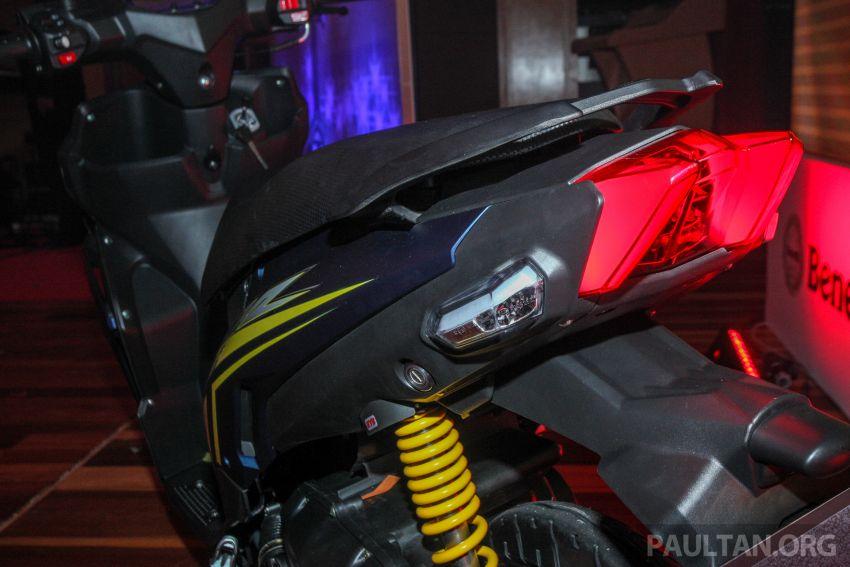 Benelli VZ125i dilancar – Malaysia jadi negara pertama terima skuter 124 cc EFI jenama itu, harga dari RM5.3k Image #859260