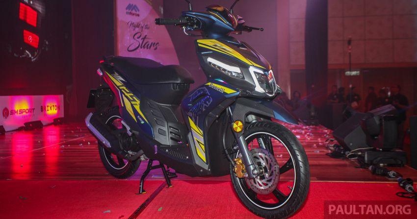 Benelli VZ125i dilancar – Malaysia jadi negara pertama terima skuter 124 cc EFI jenama itu, harga dari RM5.3k Image #859280