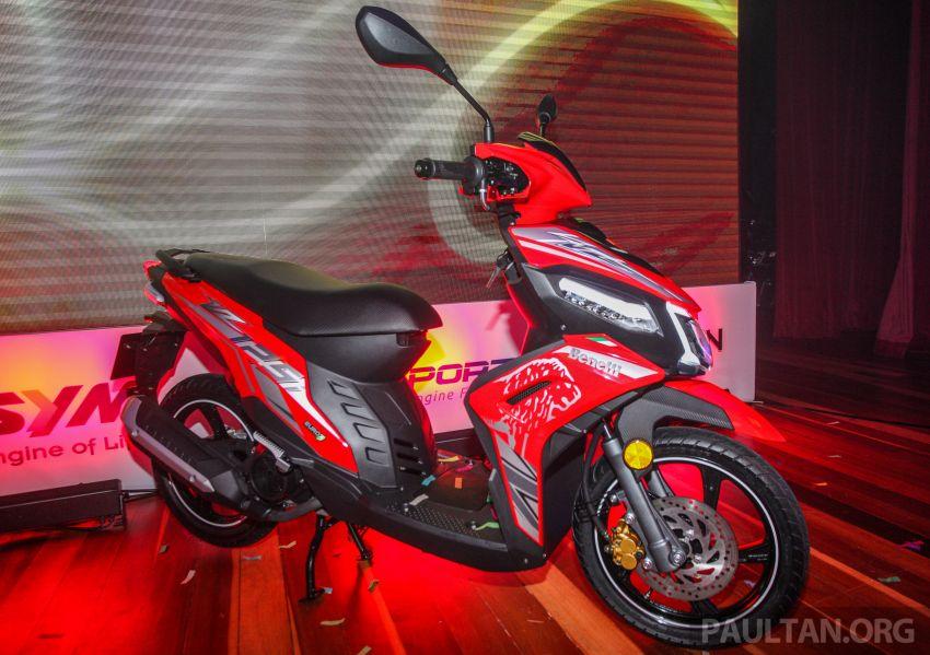 Benelli VZ125i dilancar – Malaysia jadi negara pertama terima skuter 124 cc EFI jenama itu, harga dari RM5.3k Image #859281