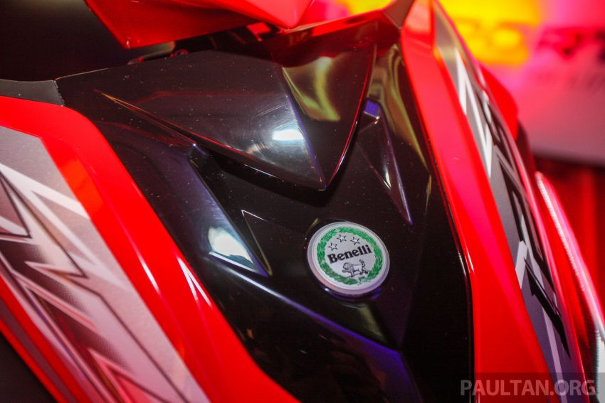 Benelli VZ125i dilancar – Malaysia jadi negara pertama terima skuter 124 cc EFI jenama itu, harga dari RM5.3k Image #859291
