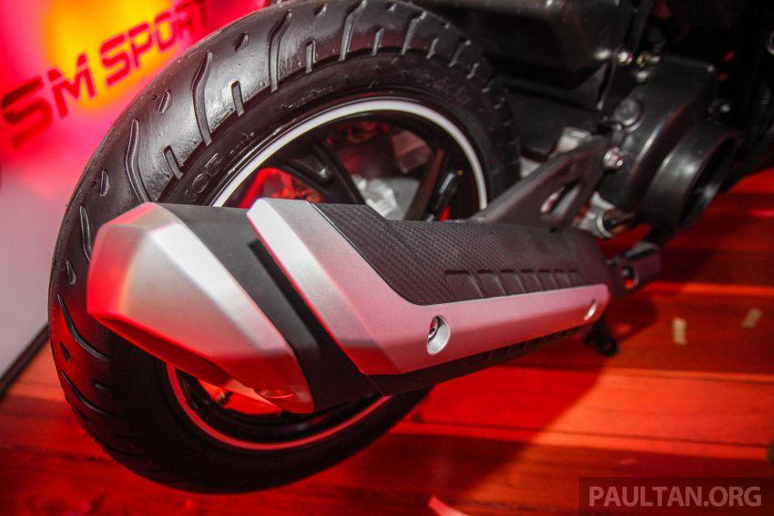 Benelli VZ125i dilancar – Malaysia jadi negara pertama terima skuter 124 cc EFI jenama itu, harga dari RM5.3k Image #859299