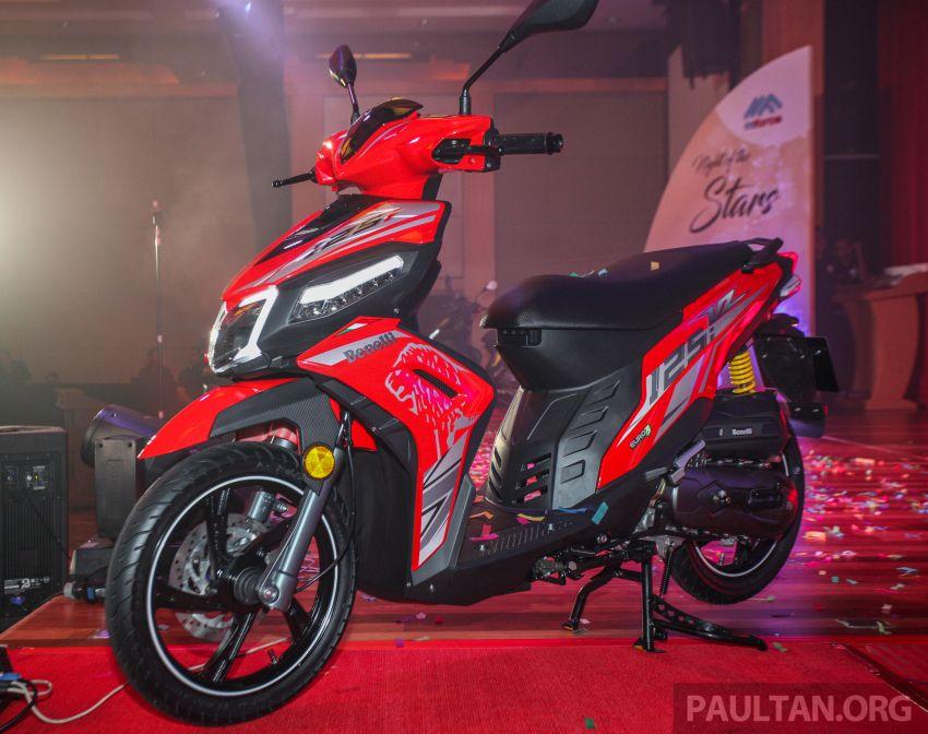 Benelli VZ125i dilancar – Malaysia jadi negara pertama terima skuter 124 cc EFI jenama itu, harga dari RM5.3k Image #859282