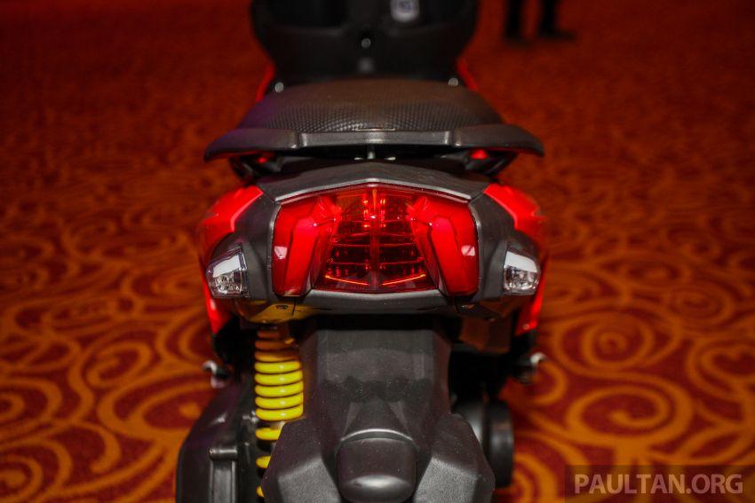 Benelli VZ125i dilancar – Malaysia jadi negara pertama terima skuter 124 cc EFI jenama itu, harga dari RM5.3k Image #859301