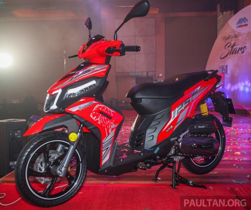 Benelli VZ125i dilancar – Malaysia jadi negara pertama terima skuter 124 cc EFI jenama itu, harga dari RM5.3k Image #859283