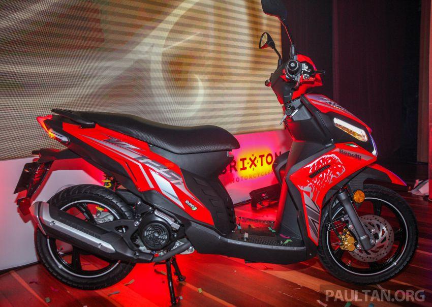 Benelli VZ125i dilancar – Malaysia jadi negara pertama terima skuter 124 cc EFI jenama itu, harga dari RM5.3k Image #859284