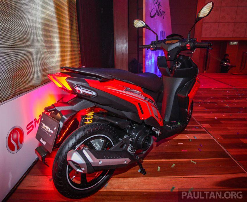 Benelli VZ125i dilancar – Malaysia jadi negara pertama terima skuter 124 cc EFI jenama itu, harga dari RM5.3k Image #859285