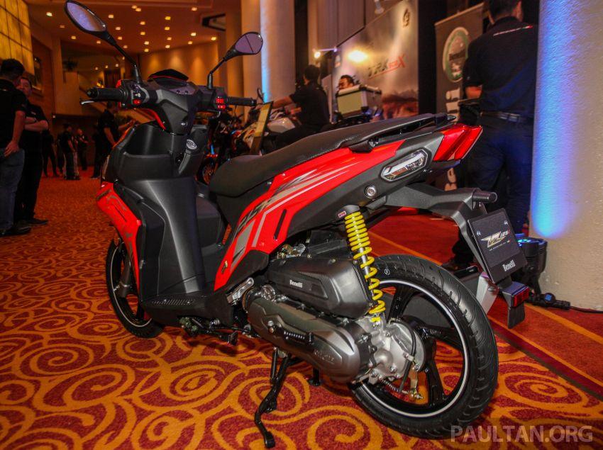 Benelli VZ125i dilancar – Malaysia jadi negara pertama terima skuter 124 cc EFI jenama itu, harga dari RM5.3k Image #859286