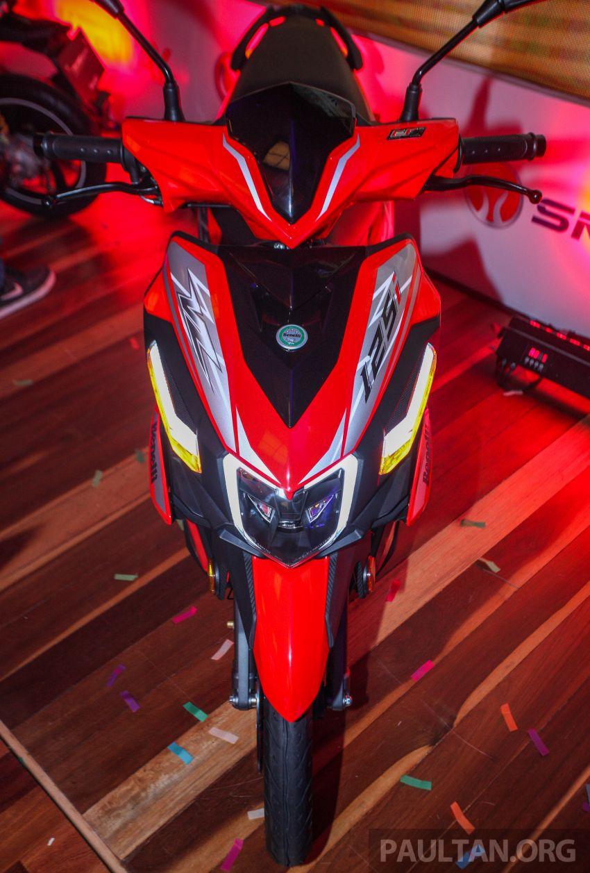 Benelli VZ125i dilancar – Malaysia jadi negara pertama terima skuter 124 cc EFI jenama itu, harga dari RM5.3k Image #859287