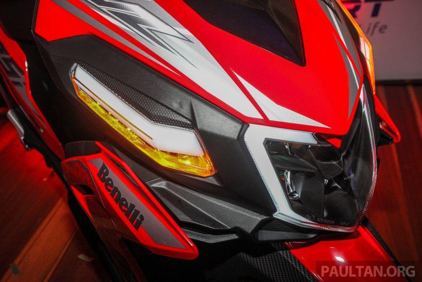 Benelli VZ125i dilancar – Malaysia jadi negara pertama terima skuter 124 cc EFI jenama itu, harga dari RM5.3k Image #859289