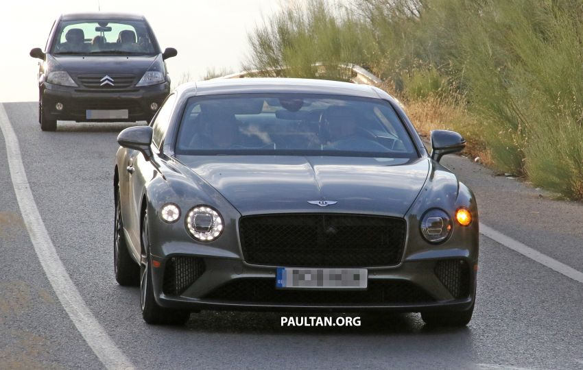 SPIED: 2019 Bentley Continental GT Speed spotted? Image #863629