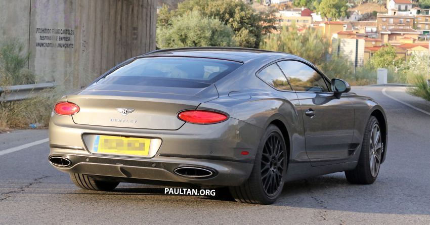 SPIED: 2019 Bentley Continental GT Speed spotted? Image #863639