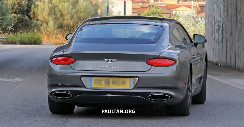 SPIED: 2019 Bentley Continental GT Speed spotted? Image #863640