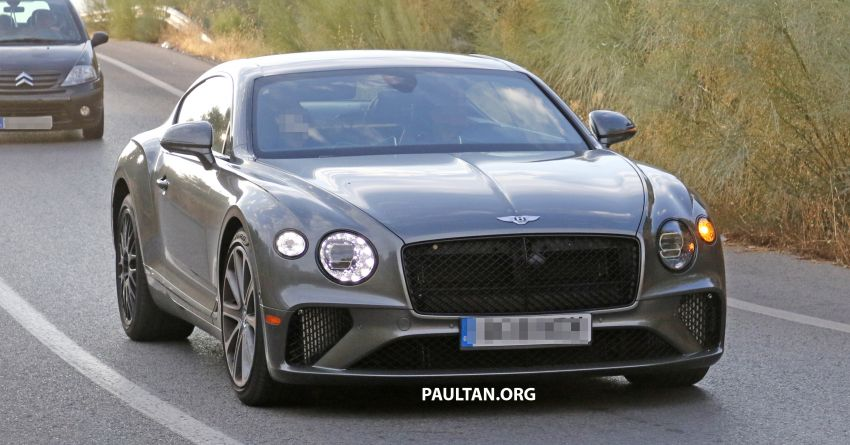 SPIED: 2019 Bentley Continental GT Speed spotted? Image #863630