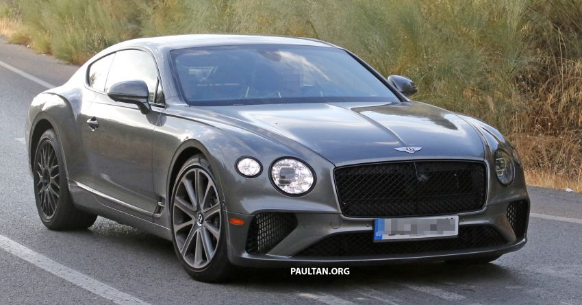 SPIED: 2019 Bentley Continental GT Speed spotted? Image #863631