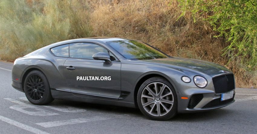 SPIED: 2019 Bentley Continental GT Speed spotted? Image #863633
