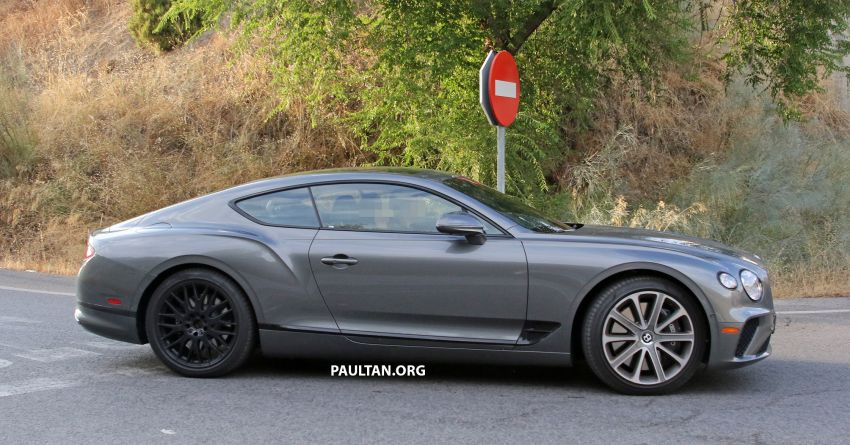 SPIED: 2019 Bentley Continental GT Speed spotted? Image #863634
