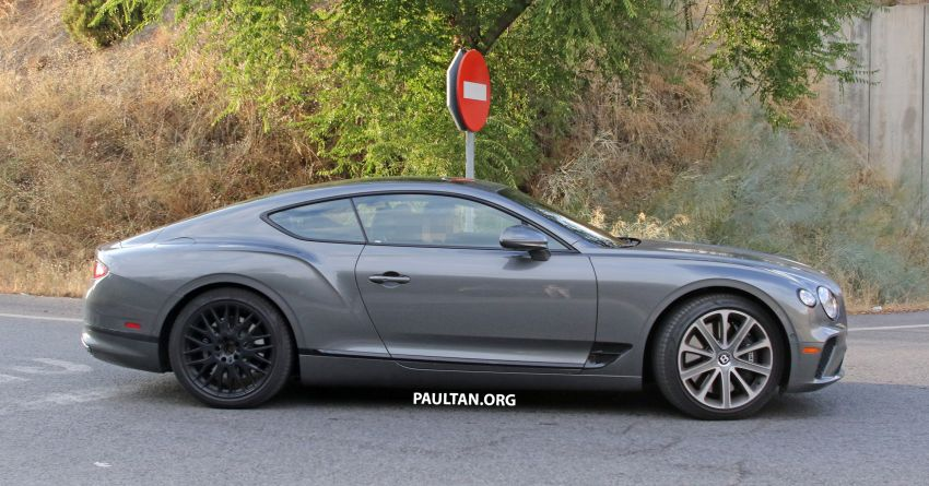 SPIED: 2019 Bentley Continental GT Speed spotted? Image #863635