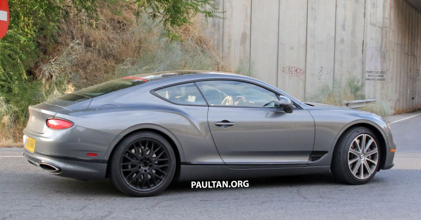 SPIED: 2019 Bentley Continental GT Speed spotted? Image #863636