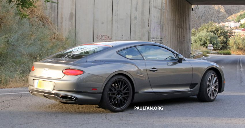 SPIED: 2019 Bentley Continental GT Speed spotted? Image #863637