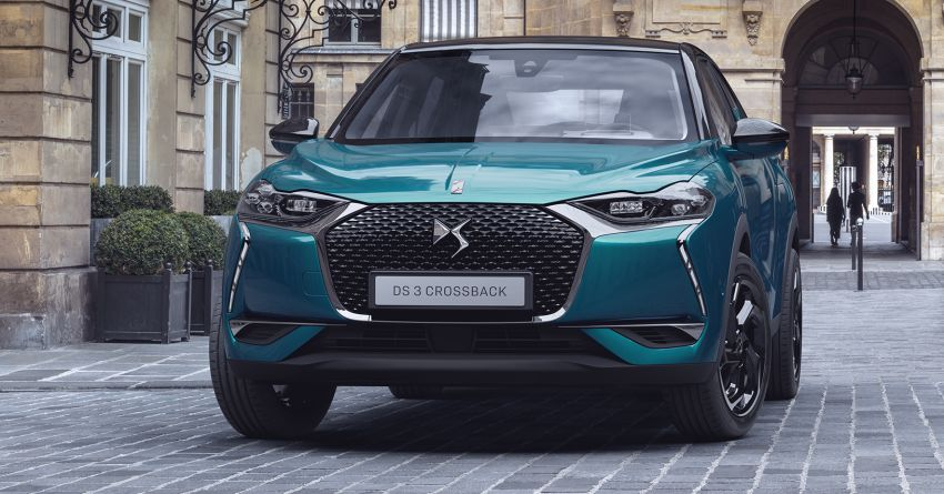 ds3 crossback debuts with all electric e tense model. Black Bedroom Furniture Sets. Home Design Ideas