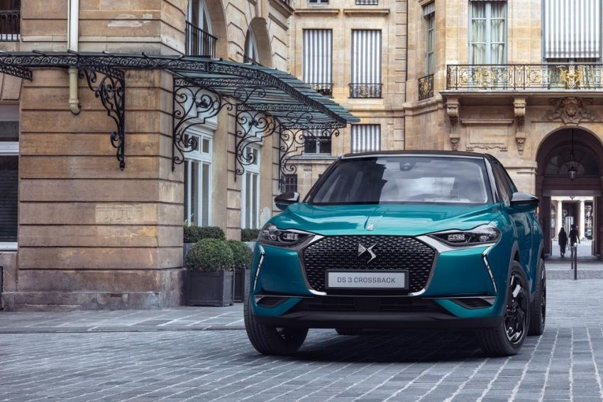 DS3 Crossback gets leaked ahead of official premiere Image #860545