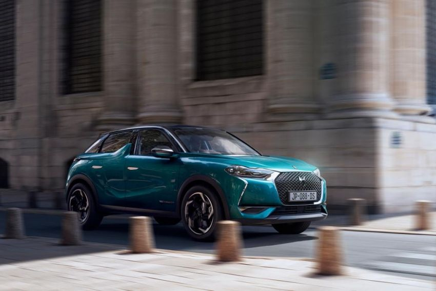 DS3 Crossback gets leaked ahead of official premiere Image #860550