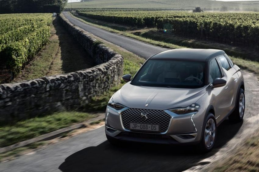 DS3 Crossback gets leaked ahead of official premiere Image #860553