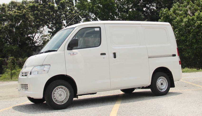 Daihatsu Malaysia perkenalkan van panel Gran Max 1.5L dengan transmisi automatik secara rasmi Image #857681