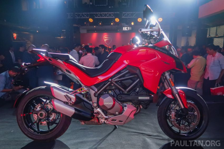 Ducati Malaysia triple launch – 2019 Ducati Panigale V4, Multistrada 1260 S, Monster 821, from RM69k Image #864872
