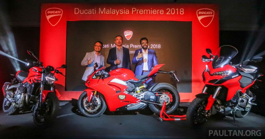 Ducati Malaysia triple launch – 2019 Ducati Panigale V4, Multistrada 1260 S, Monster 821, from RM69k Image #864843