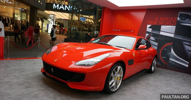 Ferrari PopUp Experience On Show At Pavilion KL - Ferrari car show