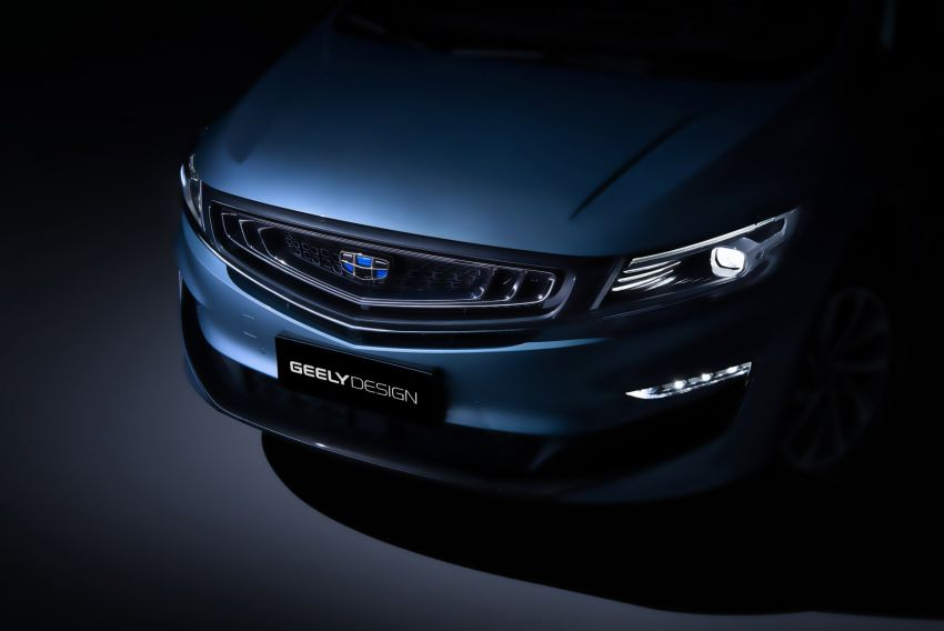 Geely MPV gets teased – is this the next Proton Exora? Image #865063
