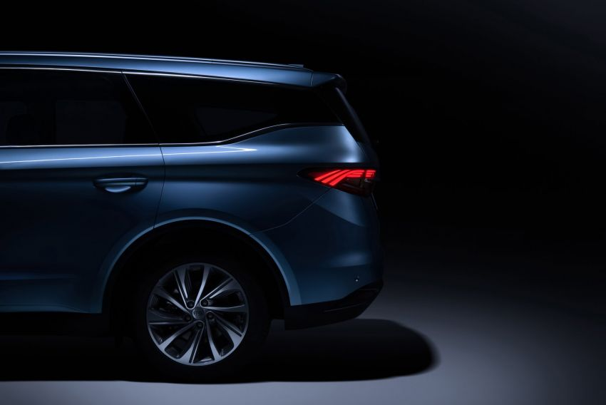 Geely MPV gets teased – is this the next Proton Exora? Image #865066