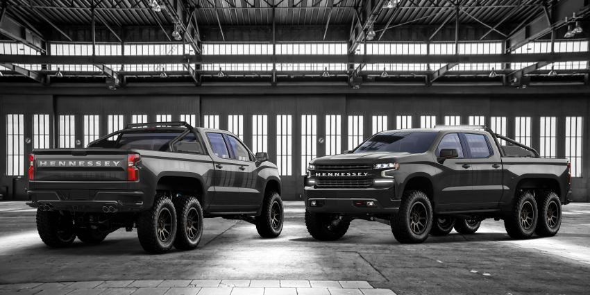 Hennessey Goliath 6×6 – 705 hp, six-wheeled monster Image #865267