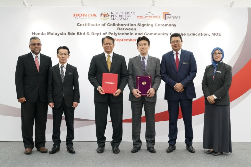 Honda Malaysia collaborates with Education Ministry to enhance technical and vocational training Image #864718