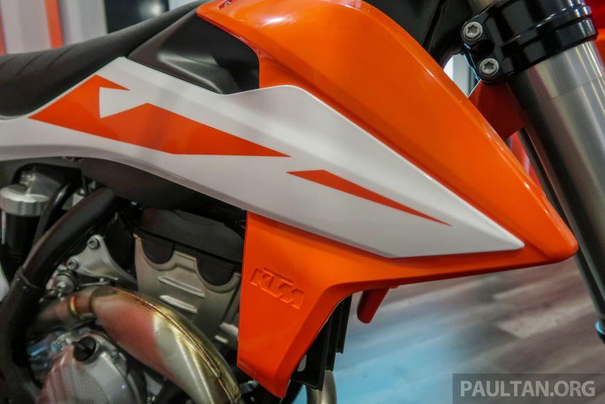 KTM Malaysia lancar model offroad tahun 2019 – pilihan enjin 250 hingga 450 cc, empat strok/dua strok Image #865107