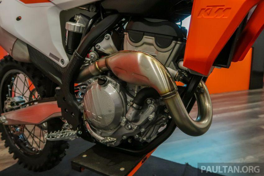 KTM Malaysia lancar model offroad tahun 2019 – pilihan enjin 250 hingga 450 cc, empat strok/dua strok Image #865113