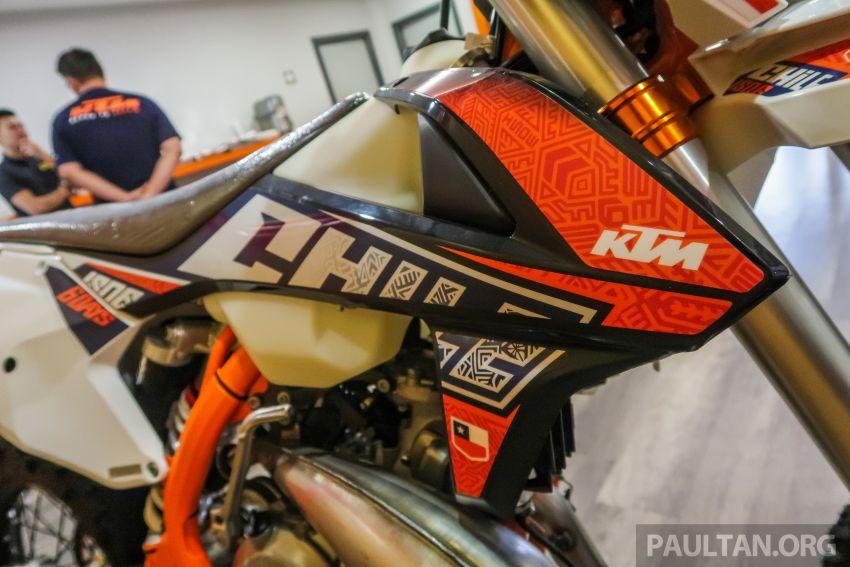 KTM Malaysia lancar model offroad tahun 2019 – pilihan enjin 250 hingga 450 cc, empat strok/dua strok Image #865160