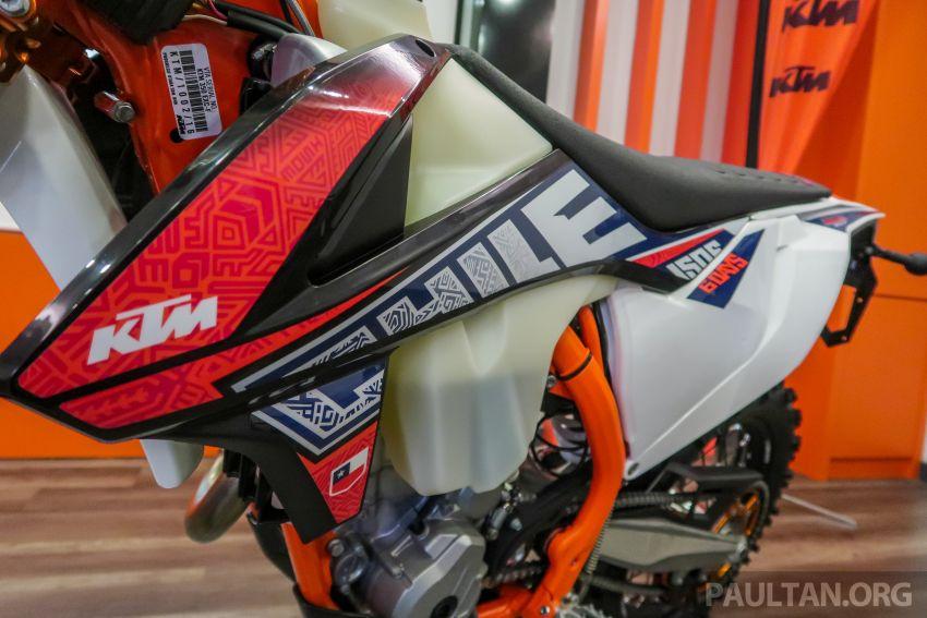 KTM Malaysia lancar model offroad tahun 2019 – pilihan enjin 250 hingga 450 cc, empat strok/dua strok Image #865203
