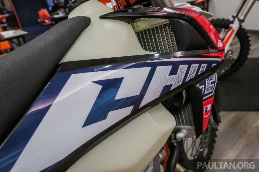 KTM Malaysia lancar model offroad tahun 2019 – pilihan enjin 250 hingga 450 cc, empat strok/dua strok Image #865208