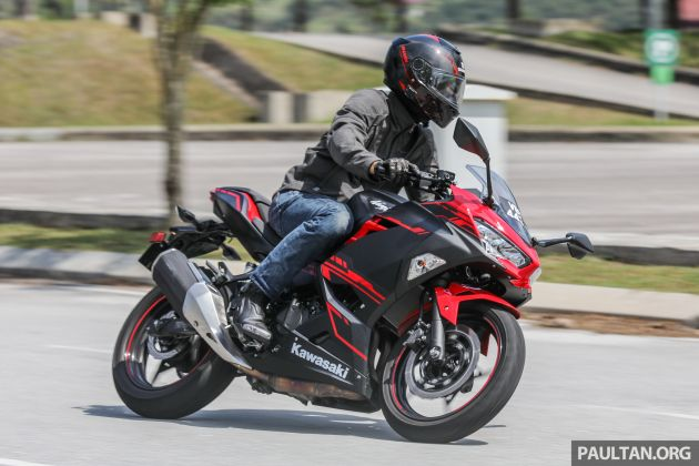 Review 2019 Kawasaki Ninja 250 The Ninja Attacks