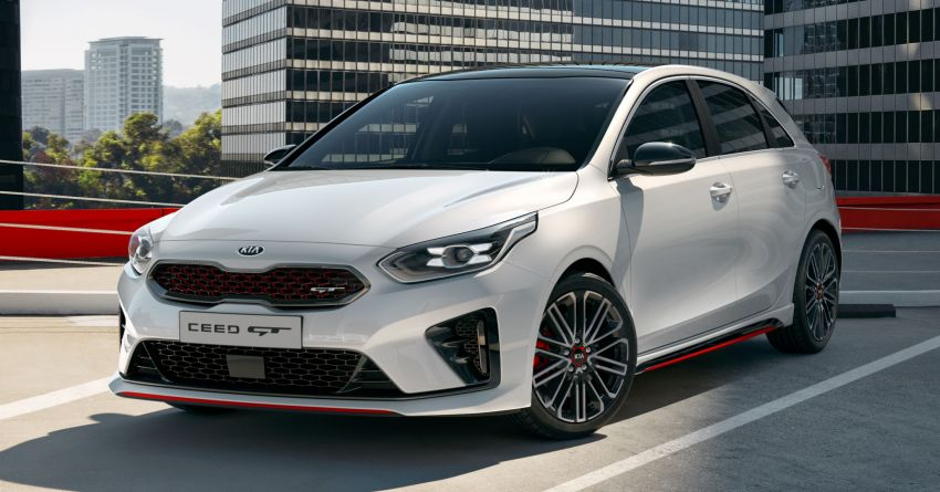 Kia Ceed GT – hot hatch debuts with 204 PS, 265 Nm Image #861137