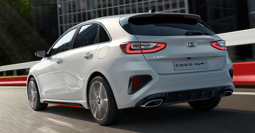 Kia Ceed GT – hot hatch debuts with 204 PS, 265 Nm Image #861138