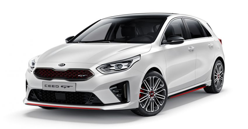 Kia Ceed GT – hot hatch debuts with 204 PS, 265 Nm Image #861140