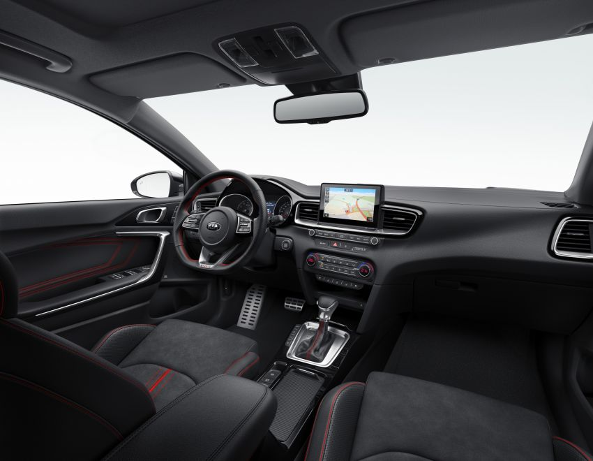 Kia Ceed GT – hot hatch debuts with 204 PS, 265 Nm Image #861142