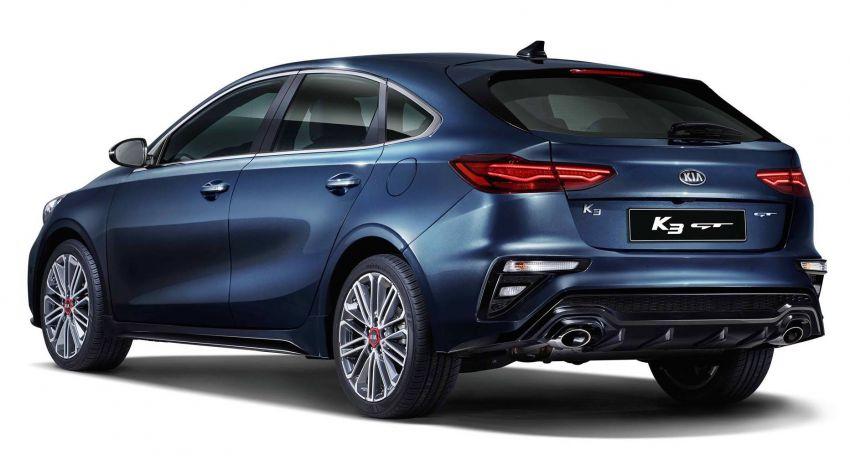 Kia K3 GT revealed in Korea, BMW Gran Turismo-style