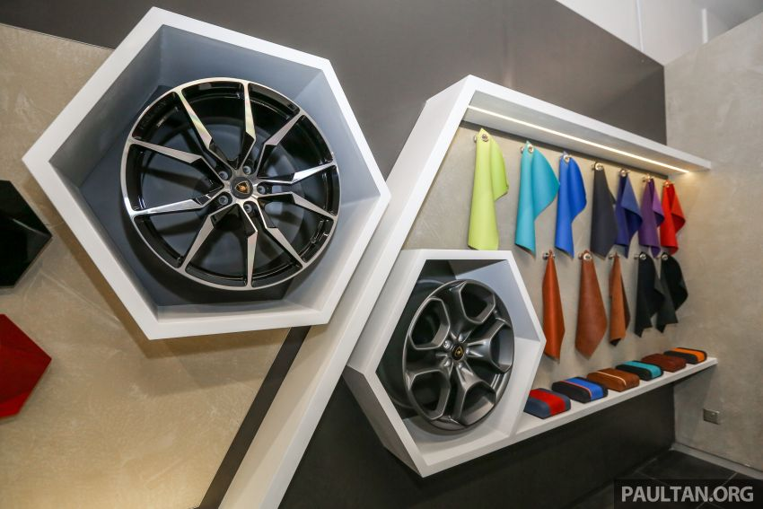 Lamborghini Kuala Lumpur unveils its revamped Glenmarie 3S centre, featuring automaker's new CI Image #861087