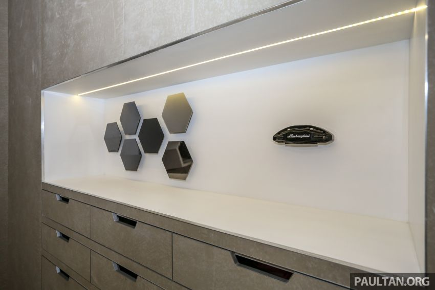 Lamborghini Kuala Lumpur unveils its revamped Glenmarie 3S centre, featuring automaker's new CI Image #861088